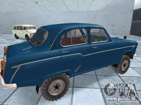 Moskvitsch 410 4 x 4 für GTA San Andreas rechten Ansicht