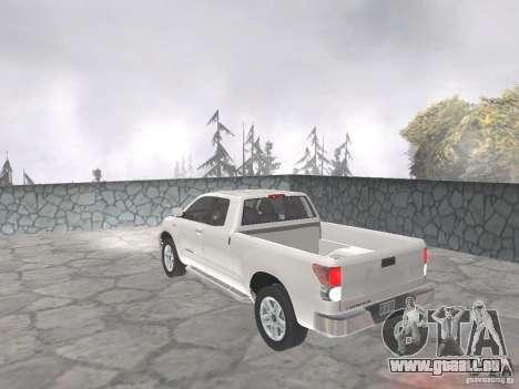 Toyota Tundra pour GTA San Andreas laissé vue