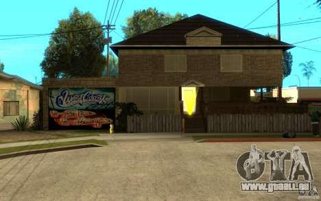 New great cjs house für GTA San Andreas
