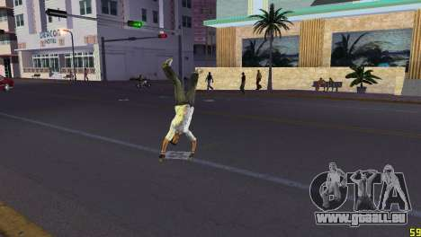 Cleo Parkour v4 für GTA Vice City dritte Screenshot