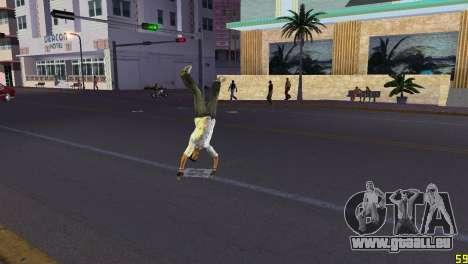 Cleo Parkour v4 GTA Vice City pour la troisième écran