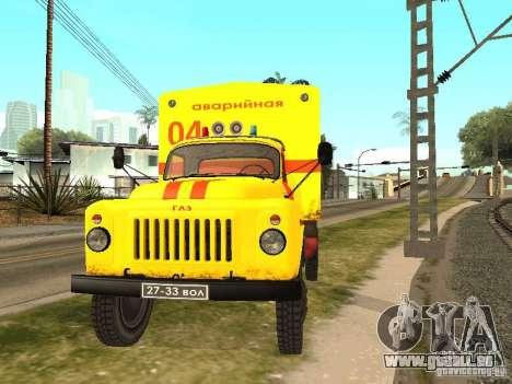 GAZ 53 für GTA San Andreas rechten Ansicht