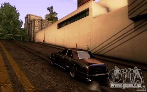 Bentley Arnage R 2005 für GTA San Andreas rechten Ansicht