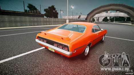 Mercury Cyclone Spoiler 1970 pour GTA 4 Vue arrière de la gauche