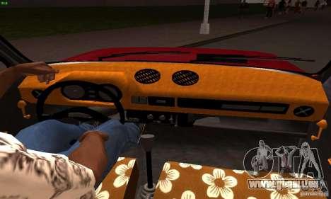 Zastava Skala 55 pour GTA San Andreas sur la vue arrière gauche