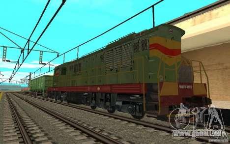 Chemin de fer II mod pour GTA San Andreas quatrième écran