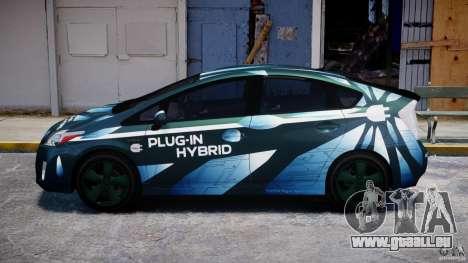 Toyota Prius 2011 PHEV Concept für GTA 4 linke Ansicht