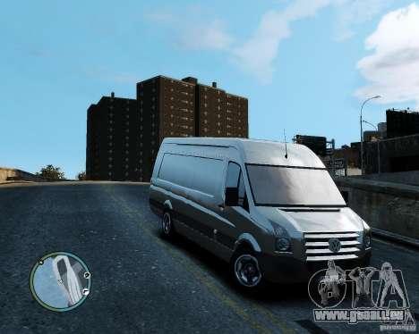 Volkswagen Crafter für GTA 4 linke Ansicht