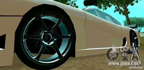 New Turismo pour GTA San Andreas vue intérieure