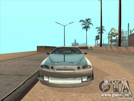 Toyota Soarer (JZZ30) für GTA San Andreas Rückansicht