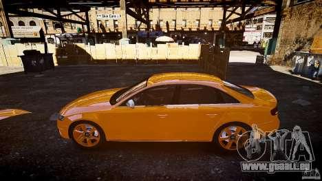 Audi S4 2010 für GTA 4 Innenansicht
