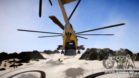 MH-53 Pavelow v1.1 pour GTA 4 est une vue de l'intérieur