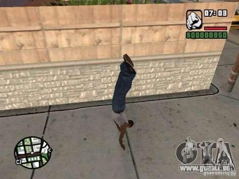 PARKoUR pour GTA San Andreas