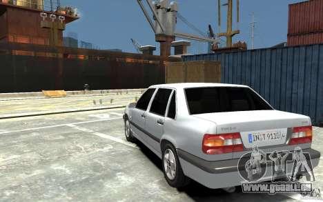 Volvo 850 Turbo 1997 pour GTA 4 Vue arrière de la gauche