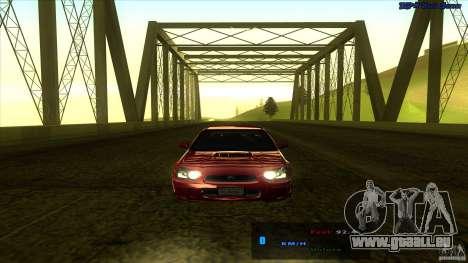 ENBSeries 0.75c pour GTA San Andreas quatrième écran