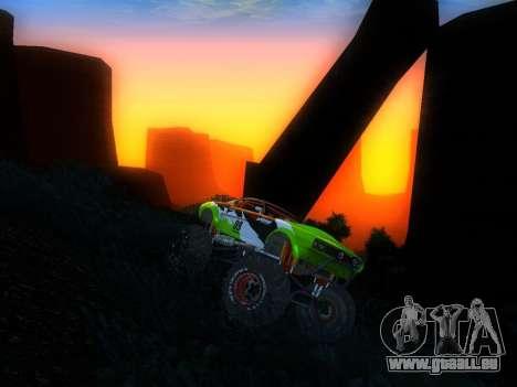 Fire Ball für GTA San Andreas rechten Ansicht
