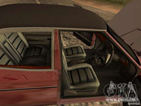 Ford Cortina MK 3 2000E pour GTA San Andreas vue arrière