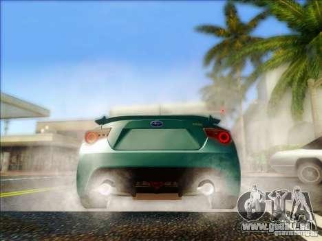 Subaru BRZ S 2012 für GTA San Andreas rechten Ansicht