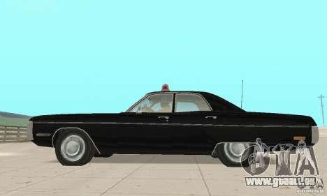 Plymouth Fury III Police für GTA San Andreas rechten Ansicht