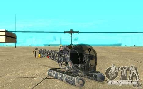 Sea Bell H13 für GTA San Andreas linke Ansicht