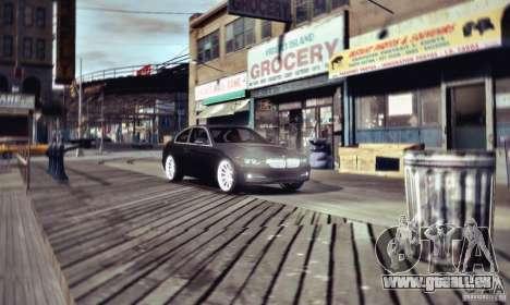 BMW 335i Coupe pour GTA 4 Vue arrière de la gauche