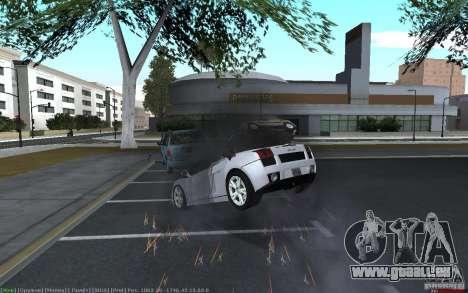 Accident réaliste pour GTA San Andreas troisième écran