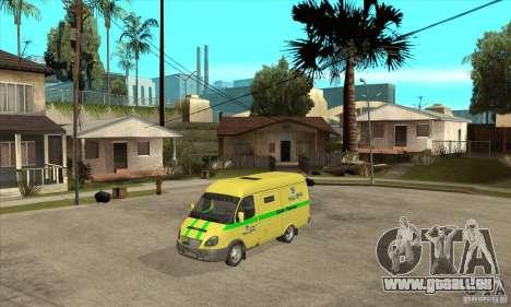 Gazelle du collecteur pour GTA San Andreas
