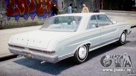 Ford Mercury Comet 1965 [Final] pour GTA 4 est un droit