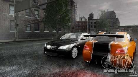 BMW M5 e60 Emre AKIN Edition für GTA 4 Innenansicht