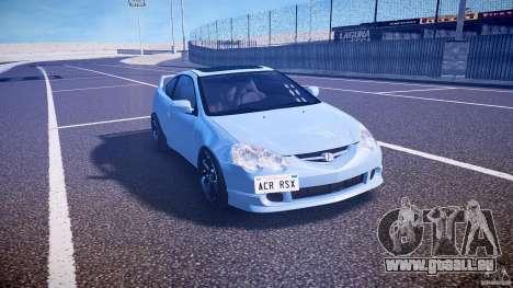 Acura RSX TypeS v1.0 Volk TE37 pour GTA 4 Vue arrière