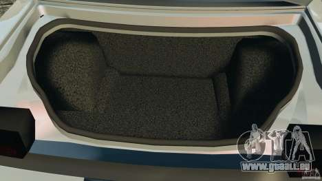 Dodge Challenger SRT8 392 2012 pour GTA 4 est une vue de dessous
