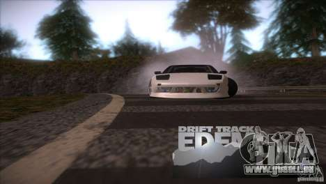 Edem Hill Drift Track für GTA San Andreas her Screenshot
