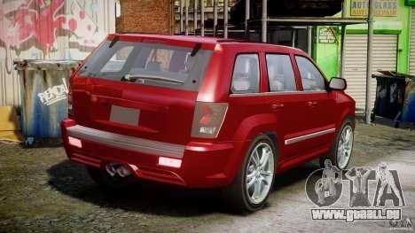 Dodge Durango [Beta] pour GTA 4 est une vue de l'intérieur