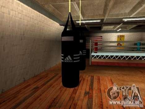 Nouveau sac de boxe boxe pour GTA San Andreas