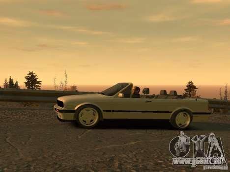 BMW 3-er E30 pour GTA 4 Vue arrière de la gauche