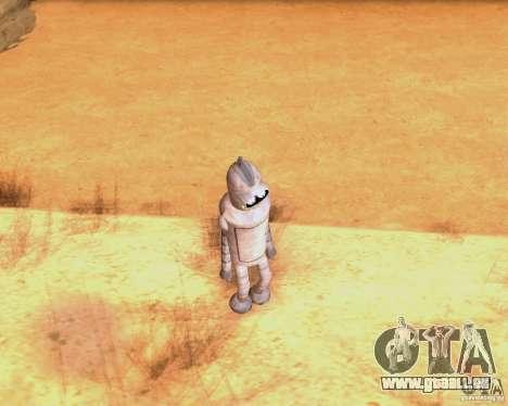 Futurama pour GTA San Andreas troisième écran