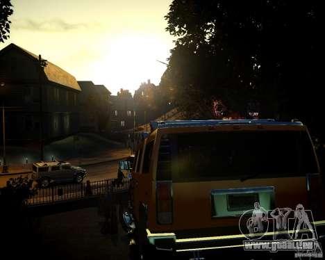 Hummer H2 2010 Limited Edition für GTA 4 obere Ansicht