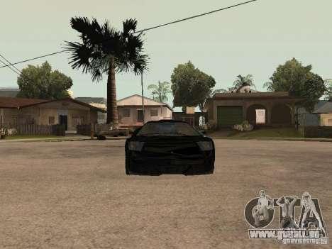 GTA4 Infernus pour GTA San Andreas vue de droite