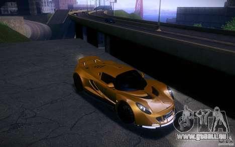 Hennessey Venom GT 2010 V1.0 für GTA San Andreas Rückansicht