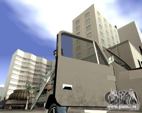 Capot du système pour GTA San Andreas septième écran