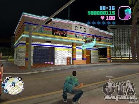 Service de voiture-1 cent pour GTA Vice City