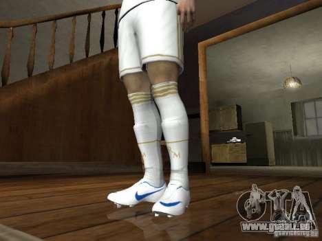Cristiano Ronaldo pour GTA San Andreas cinquième écran