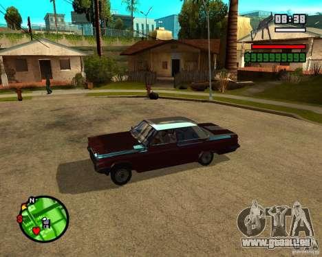 Mercury Mascarpone pour GTA San Andreas laissé vue