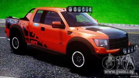 Ford F150 Racing Raptor XT 2011 pour GTA 4 est une vue de dessous