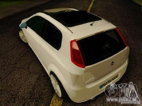 Fiat Grande Punto CLD Style für GTA San Andreas linke Ansicht