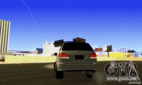 Lexus RX300 pour GTA San Andreas vue intérieure
