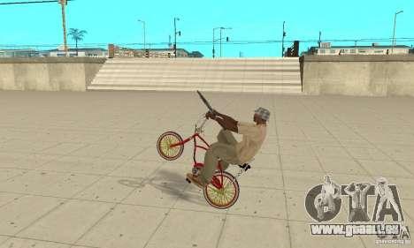 CUSTOM BIKES BMX pour GTA San Andreas vue de droite