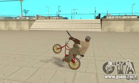 CUSTOM BIKES BMX für GTA San Andreas rechten Ansicht