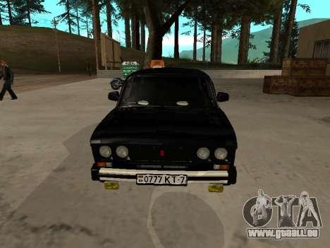 21065 VAZ v2.0 pour GTA San Andreas laissé vue