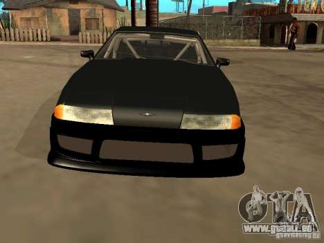 New Tuning Kits for Elegy pour GTA San Andreas vue arrière